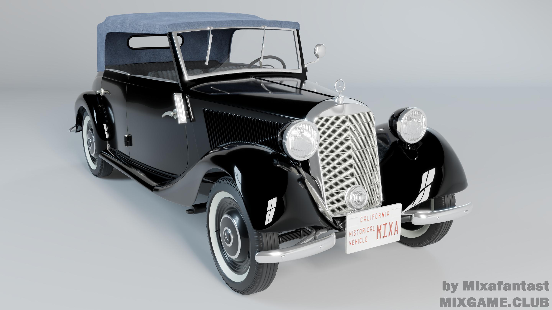 Mersedes Benz v170 (1937