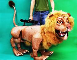 執頭提線偶-獅子