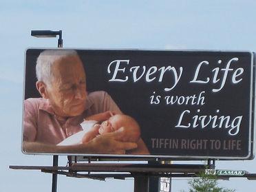 2017 Billboard Every Life is Worth Livin