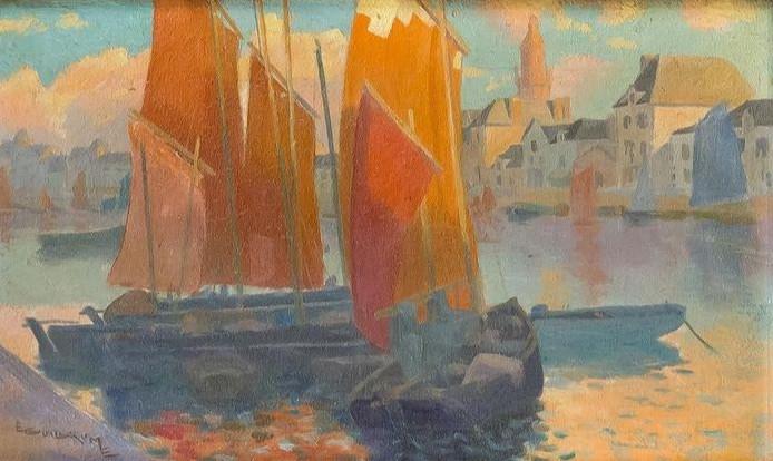 Émile Guillaume (1900-1975) %22Port du C