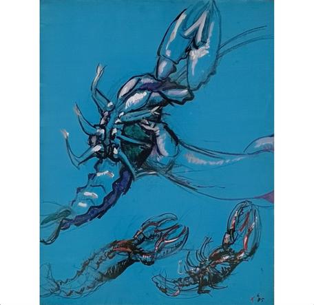 Jean Hélion (1904-1987) Prise de homards