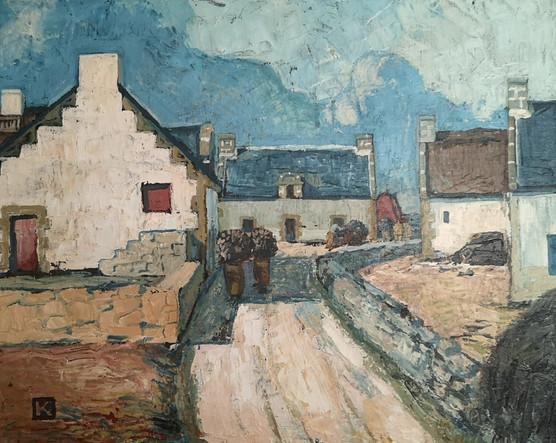 Yves de Kerouallan (1895-1984) %22Départ
