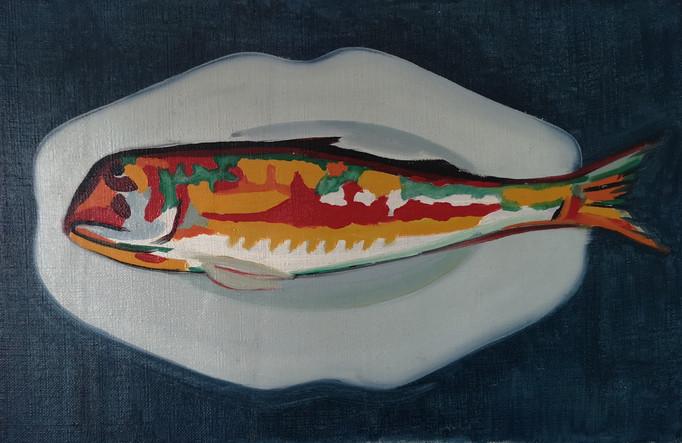Yves Laloy (1920-1999) %22Le poisson%22