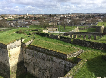 The Citadel at Blaye - Vauban's architecture - North of Bordeaux
