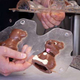 Chocolate Dog _ © Chocolates & Happiness