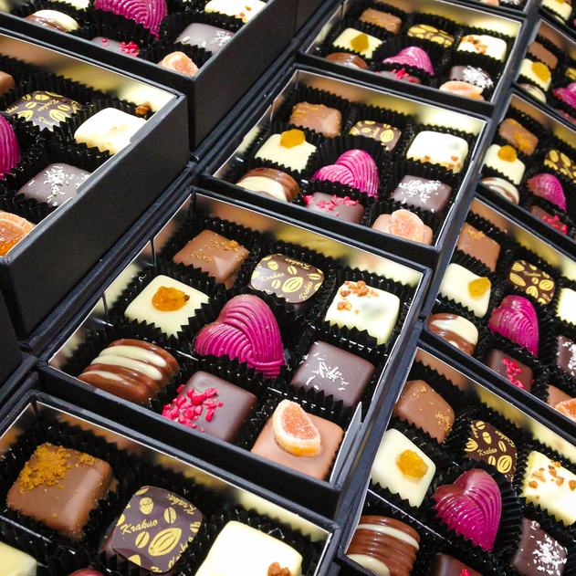 Fine chocolates _ © Chocolates & Happine