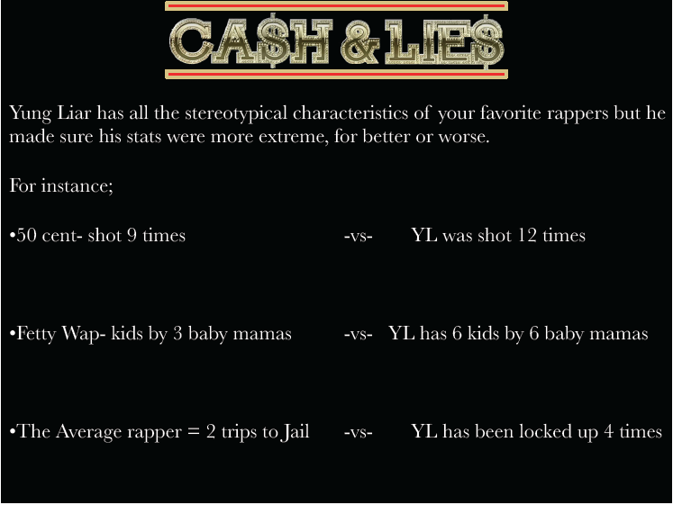 Cash & Lies - Wall of fame