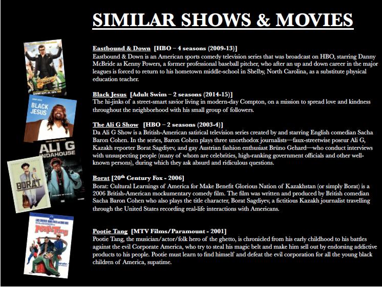 "Cash & Lies ""Similar Shows"""