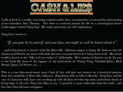 Cash & Lies - Synopsis