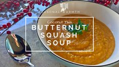Coconut Thai Butternut Squash Soup