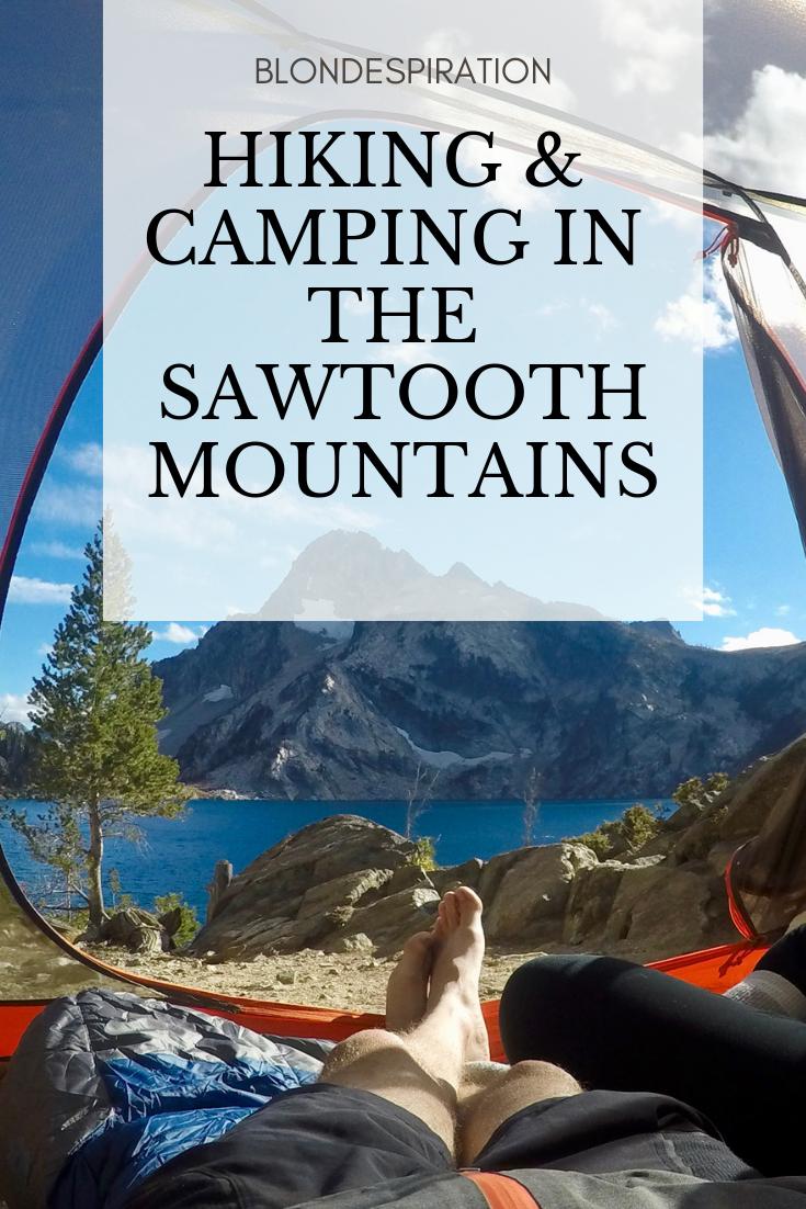 Hiking in the Sawtooth Mountains Idaho