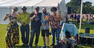 Streamline 55s at Ampthill Beer Festival
