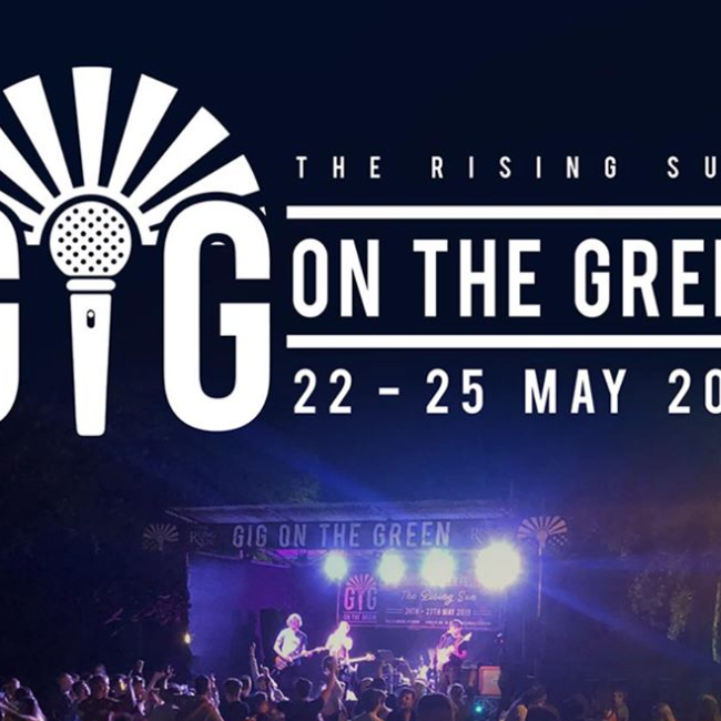 CANCELLED Gig on the Green at The Rising Sun