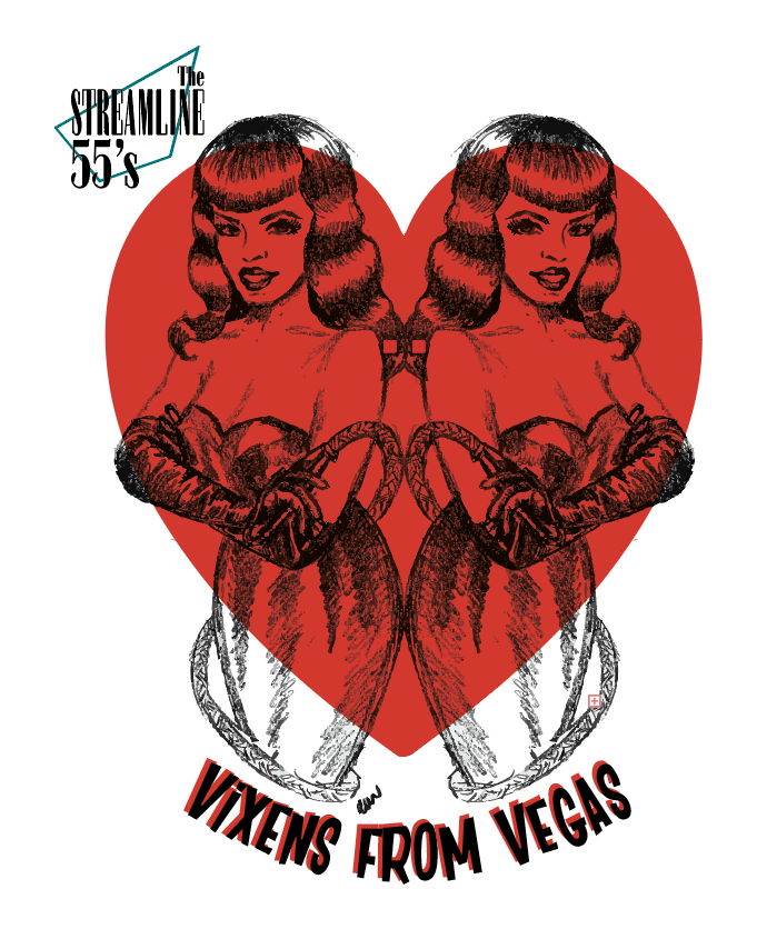 Streamline 55s vixens from Vegas