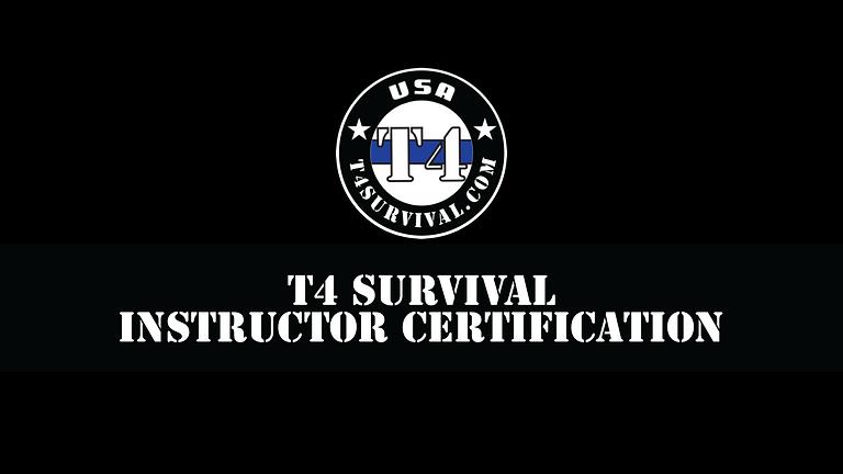 T4 Survival Instructor Certification