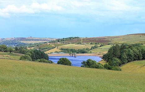 Lower Laithe Reservoir, Stanbury, near H