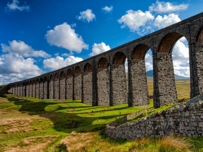 Ribblehead Viaduct, Yorkshire