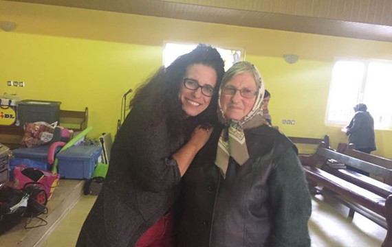Loving on women in villages