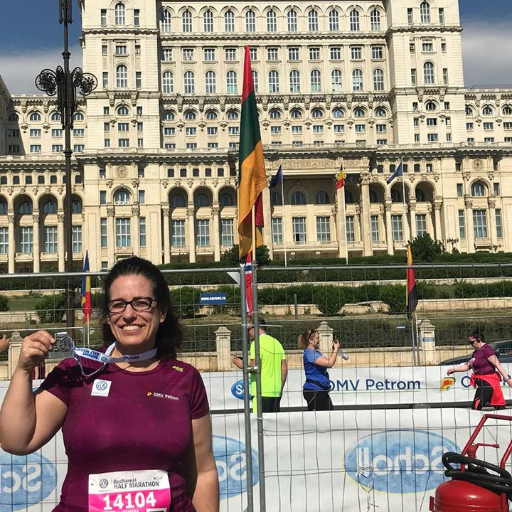 10K run in Bucharest Romania
