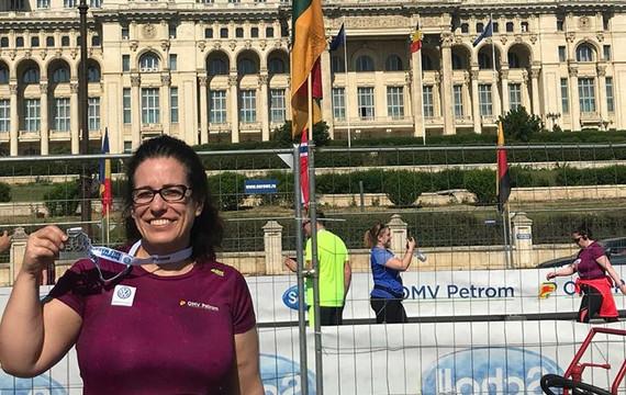 10K run in Bucharest Romania
