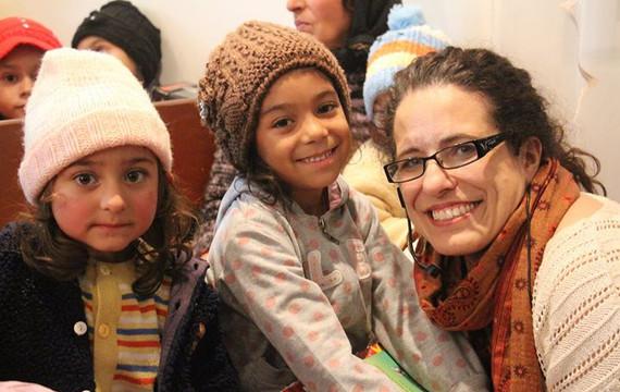 Sharing love of Jesus to children