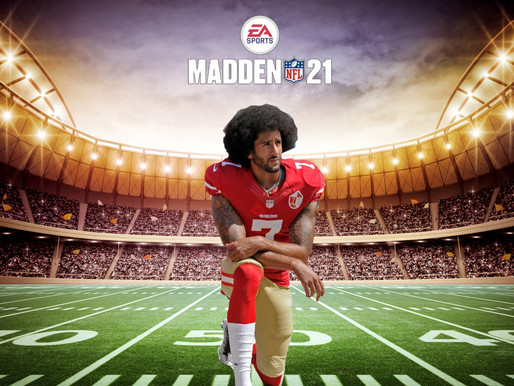 MADDEN CURSE: Kaepernick breaks knees after being added to Madden '21 cover