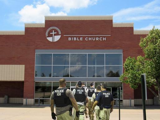 ICE Agents bust church sanctuary in zany DOJ mix-up