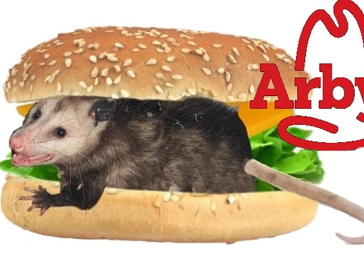 """Arby's unveils new """"Impossumable Burger,"""" the burger that is 73% possum"""