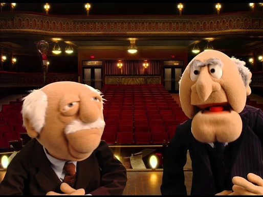 Statler and Waldorf review the Presidential Debates