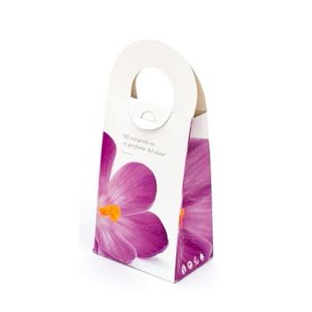 Lila bloem  per 50