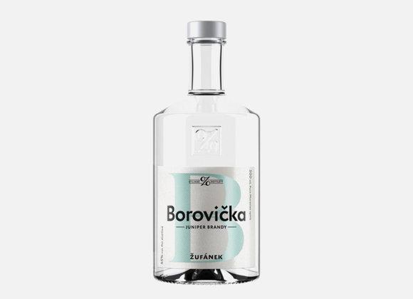 Žufánek Borovička 45% 0,5l