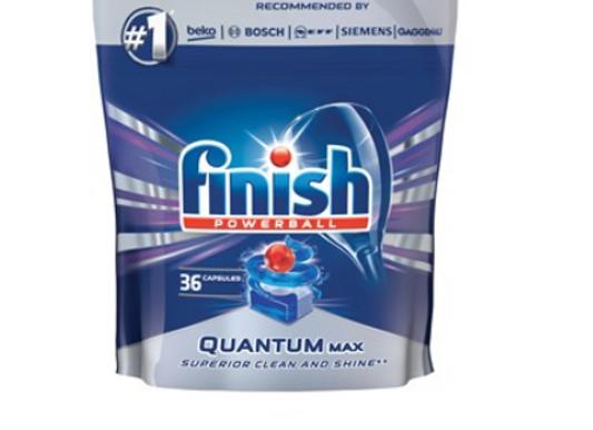 Tablety do umyvacky riadu Finish Powerball Quantum Max  36ks