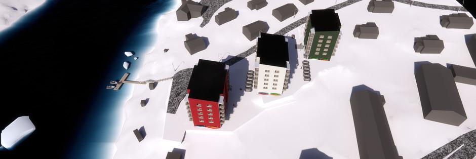 Offentlig licitation: 20+40 bæredygtige boliger på i 3 etaper, Aasiaat