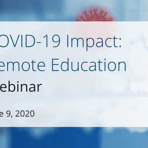 COVID-19 Impact: Remote Education Webinar
