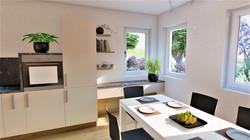 Küche Wohnraum Esszimmer