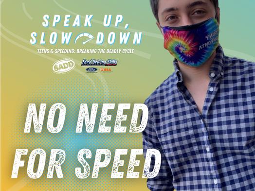 Speak up, slow down