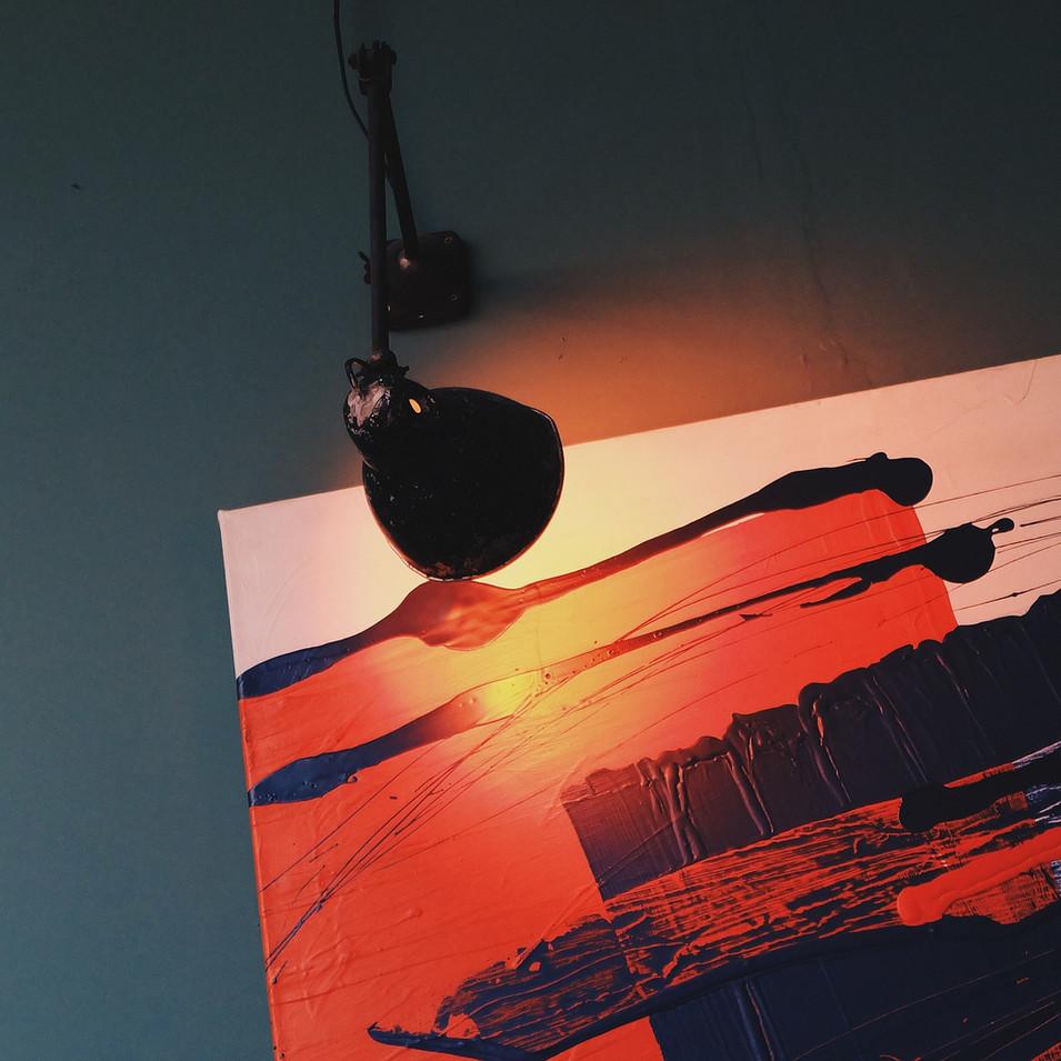 Luz sobre Pintura