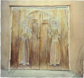 Taos Church Doors
