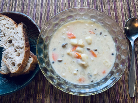 お野菜の豆乳クリームスープ