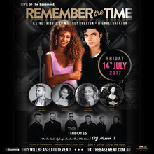 Remember The Time - A live tribute to Michael Jackson & Whitney Houston
