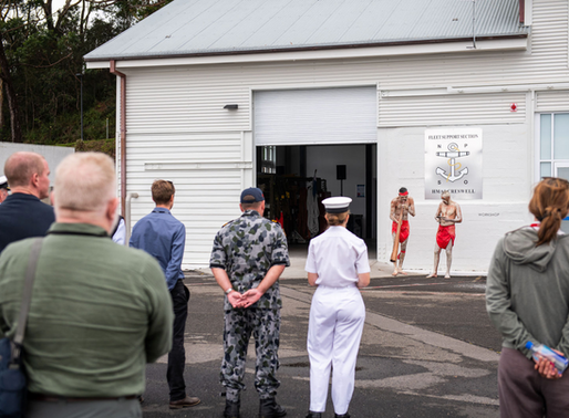 Newly refurbished building 153 at HMAS Creswell officially open for operations