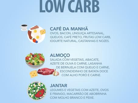 OPÇÕES DE CARDÁPIO LOW CARB