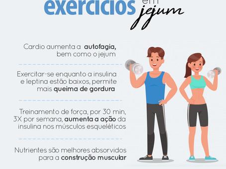 BENEFÍCIOS AO FAZER EXERCÍCIOS EM JEJUM