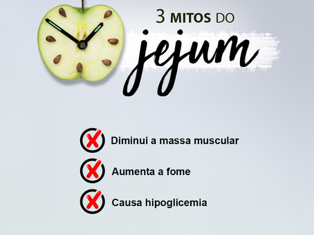 3 Mitos do Jejum