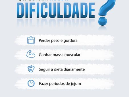 Qual a sua maior dificuldade?