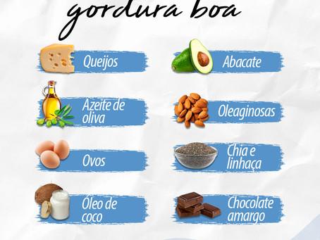 Alimentos ricos em gordura boa