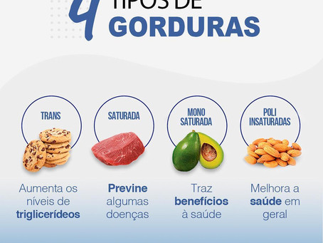 4 Tipos de gorduras
