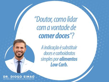 """""""DOUTOR, COMO LIDAR COM A VONTADE DE COMER DOCES""""?"""