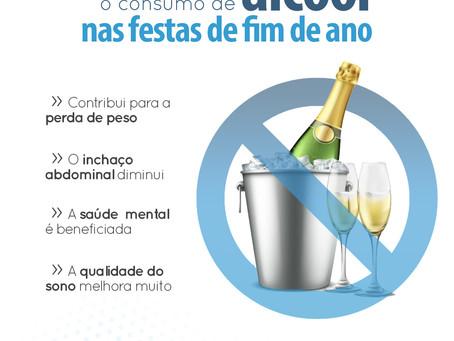 MOTIVOS PARA EVITAR O ÁLCOOL NAS FESTAS DE FIM DE ANO.