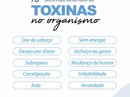 10 Sinais que você está sofrendo de acúmulo de toxinas no organismo.